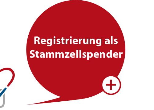 Registrierung als Stammzellspender