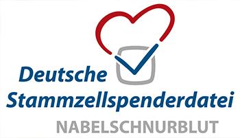 Logo: Deutsche Stammzellspenderdatei Nabelschnurblut
