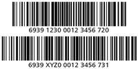 Thumb grid code